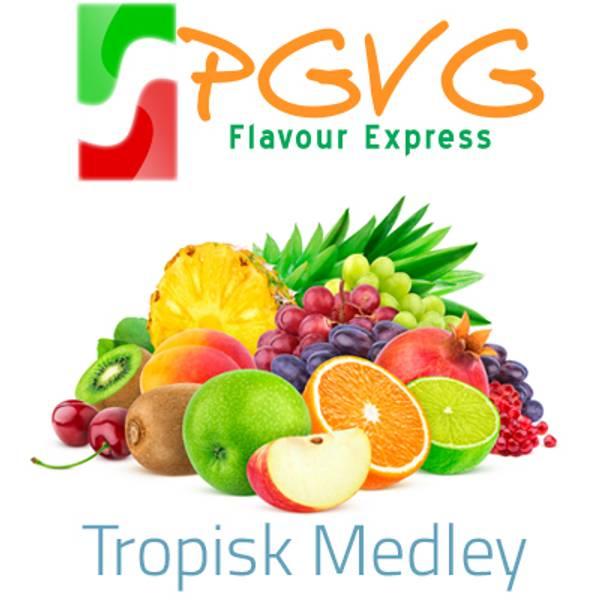 Bilde av PGVG Flavour Express - Tropisk Medley, Aroma