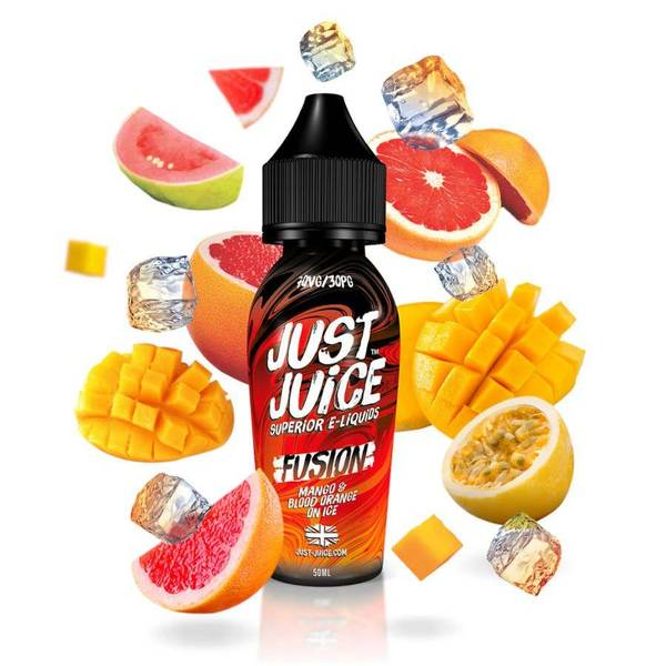 Bilde av Just Juice Fusion Mango & Blood Orange on Ice,