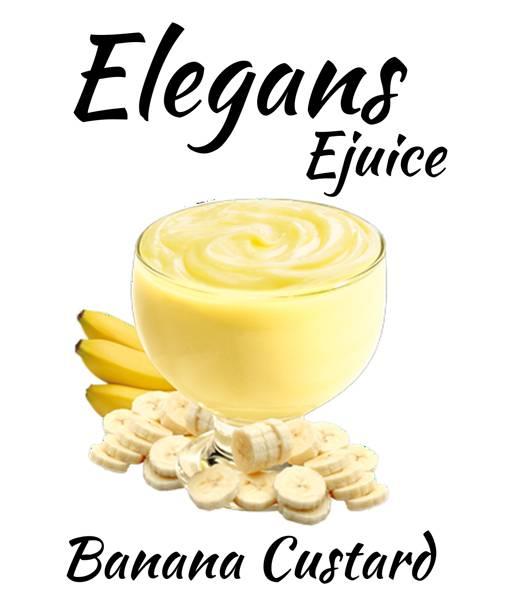 Bilde av Elegans - Banana Custard, Ejuice 50/60 ml