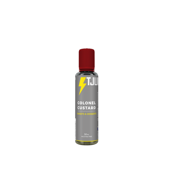Bilde av T-Juice - Colonel Custard, Ejuice 50/60 ml