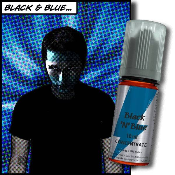 Bilde av T-Juice - Black n Blue, Konsentrat 30 ml