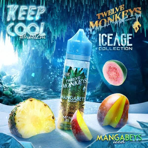 Bilde av Twelve Monkeys Ice Age - Mangabeys, Ejuice 50/60